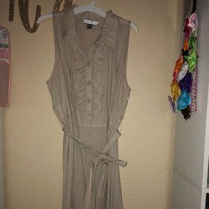 Dresses & Skirts - Beautiful Khaki Dress